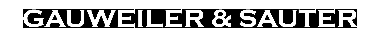 Gauweiler & Sauter Logo